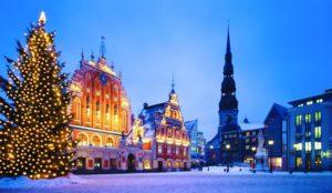 Новый год в Латвии.