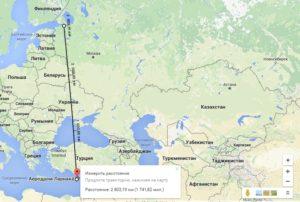 Перелет Хельсинки - Ларнака.