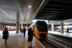Поезд в Гаагу.