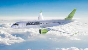 самолет в Прагу Air Baltic