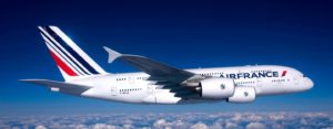 самолет в Париж Air France