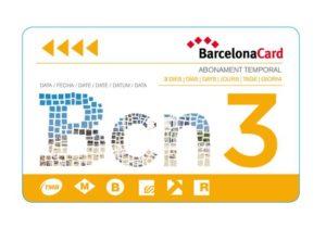 Так выглядит Barcelona card