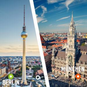 Как лучше и дешевле добраться из Берлина в Мюнхен?