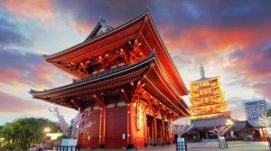 Стоимость поездки в Японию