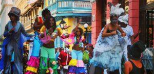 новогодняя Куба