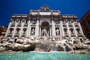 фонтану Треви в Риме
