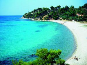 Пляж на полуострове Халкидики