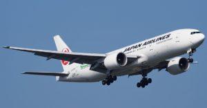 Полет в Японию Japan Airlines