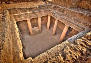 Музей Королевские гробницы, Пафос