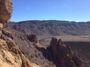 Марсианский ландшафт в парке Тейде на Тенерифе