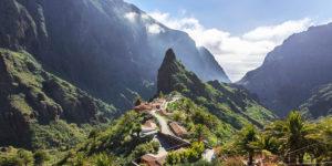 Деревня (ущелье) Маска на Тенерифе