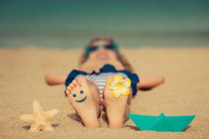 пляжный отдых с ребенком на море в России