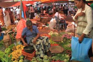 Ланкийский продуктовый рынок