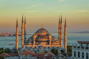Голубая мечеть Султанахмет в Стамбуле
