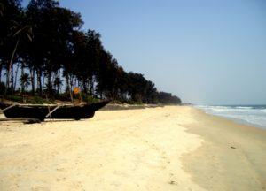 Пляж Беталбатим в Гоа