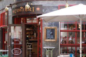 Кафе Colibri в Барселоне