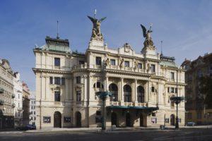 Divadlo na Vinohradech на Новый год, Прага
