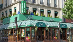 ресторан Leon de Bruxelles в Париже