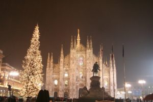 Милан в канун Нового года