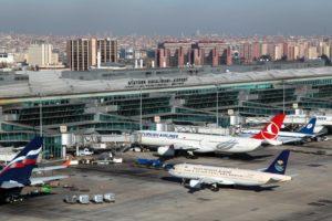 как добраться до Стамбула из аэропорта Ататюрк