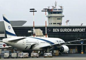 Международный аэропорт им. Д. Бен–Гуриона в Израиле