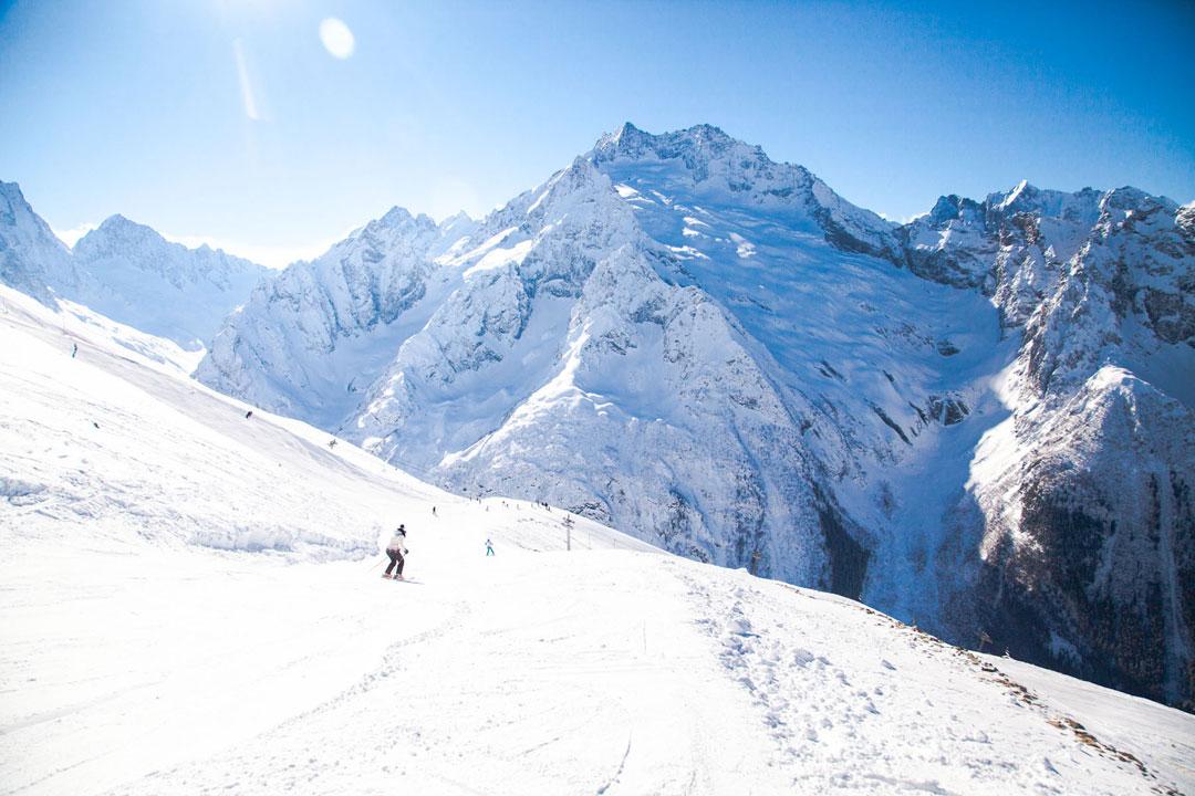Россия. Домбай - для тех, кто действительно любит горы