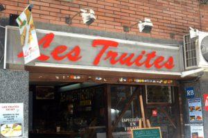 ресторан Les Truites в Барселоне