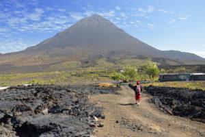 Действующий вулкан на острове Фогу, Кабо-Верде