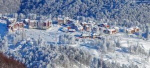 Горнолыжный курорт Красная Поляна на Новый год