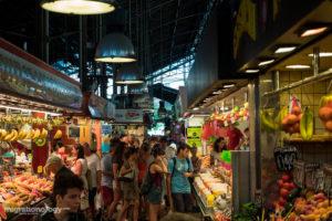Рынок La Boqueria в Барселоне
