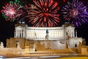 Новый год и Рождество в Риме, Италия