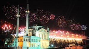 Новый год в Стамбуле