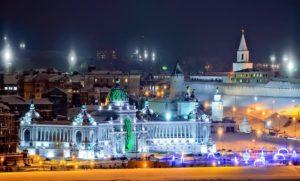 Новогодняя Казань