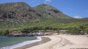 Один из пляжей острова Сантьягу, Кабо-Верде