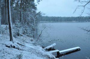 отдых на озере Селигер зимой