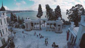 Зимний Сухуми