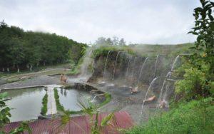 Абхазские термальные источники - отдыхаем зимой