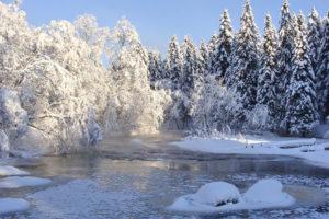 Погода в Карелии зимой
