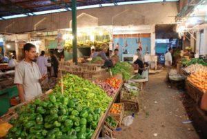 Продуктовый рынок в Хургаде, Египет самостоятельно