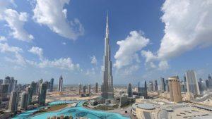Бурдж–Халифа - самое высокое здание в мире, достопримечательность Дубая