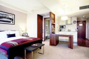 Номер-студия в питерском отеле Staybridge Suites