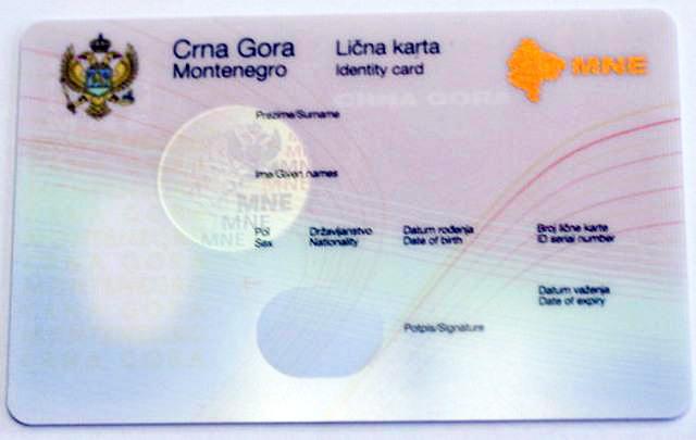 Паспорт черногории вид на жительство черногория