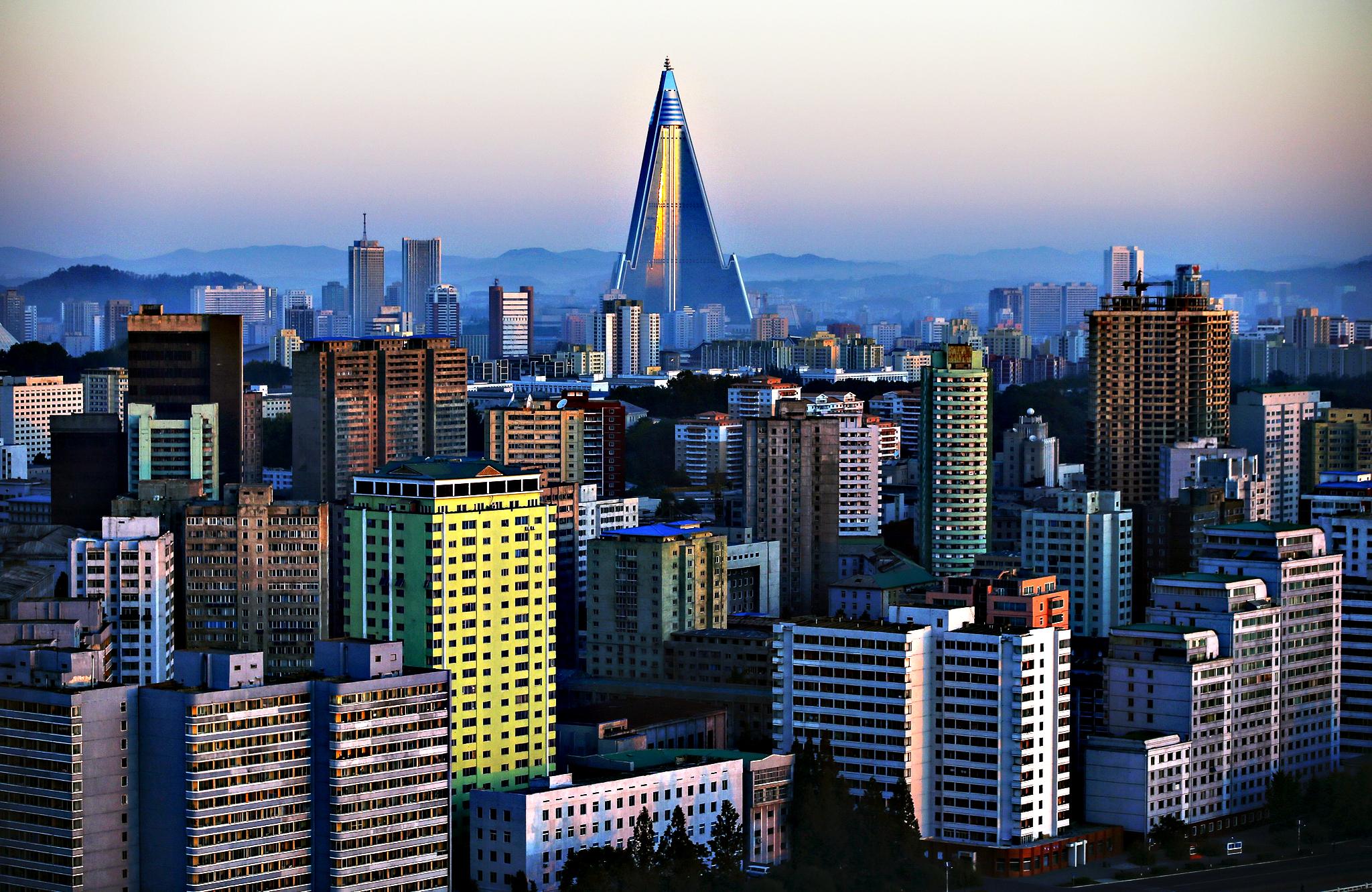 привезти город пхеньян фото которых